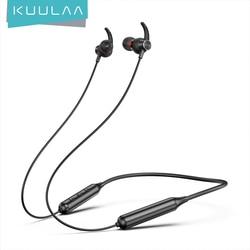 KUULAA Sport Wireless Earphone Bluetooth 5.0 Earphones In Phone Buds Handsfree Headset Earbuds For iPhone Xiaomi Huawei Samsung