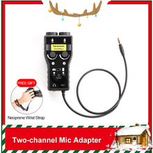 Adapter Guitar Music-Maker Professional Audio-Recording-Mixer iPod iPad with Dual-Channel