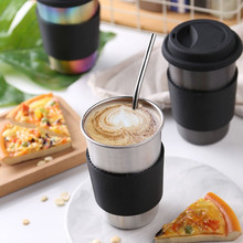 Stainless Steel Thermos Cup Double Wall Vacuum Flasks Coffee Tea Milk Travel Mug Thermo Bottle Gift Cup Accessories 900ml stainless steel insulated cup with lid double wall vacuum thermos bottle thermos for food travel coffee mug car ice cup