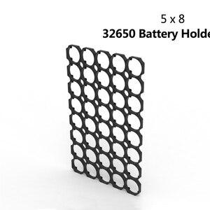 32650 32700 5x8 держатель батареи кронштейн безопасности анти вибрации пластиковый кронштейн держатель для самостоятельной сборки 32650 батарейны...