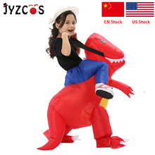 цена на Germany Spain Hot Sale Party Necessary Fan Operated Dinosaur Inflatable Costume for Kids Fancy Suit