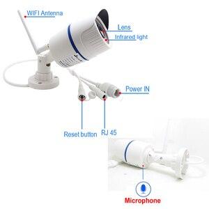 Image 3 - JIENUO 5MP Wifi kamera IP 1080P yüksek çözünürlüklü açık su geçirmez ses Cctv güvenlik gözetim kablosuz Onvif ev kamerası