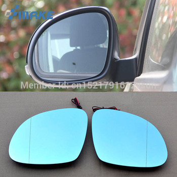 SmRKE 2 шт. для Skoda Yeti зеркало заднего вида синие очки широкоугольный светодиодный светильник с поворотными сигналами