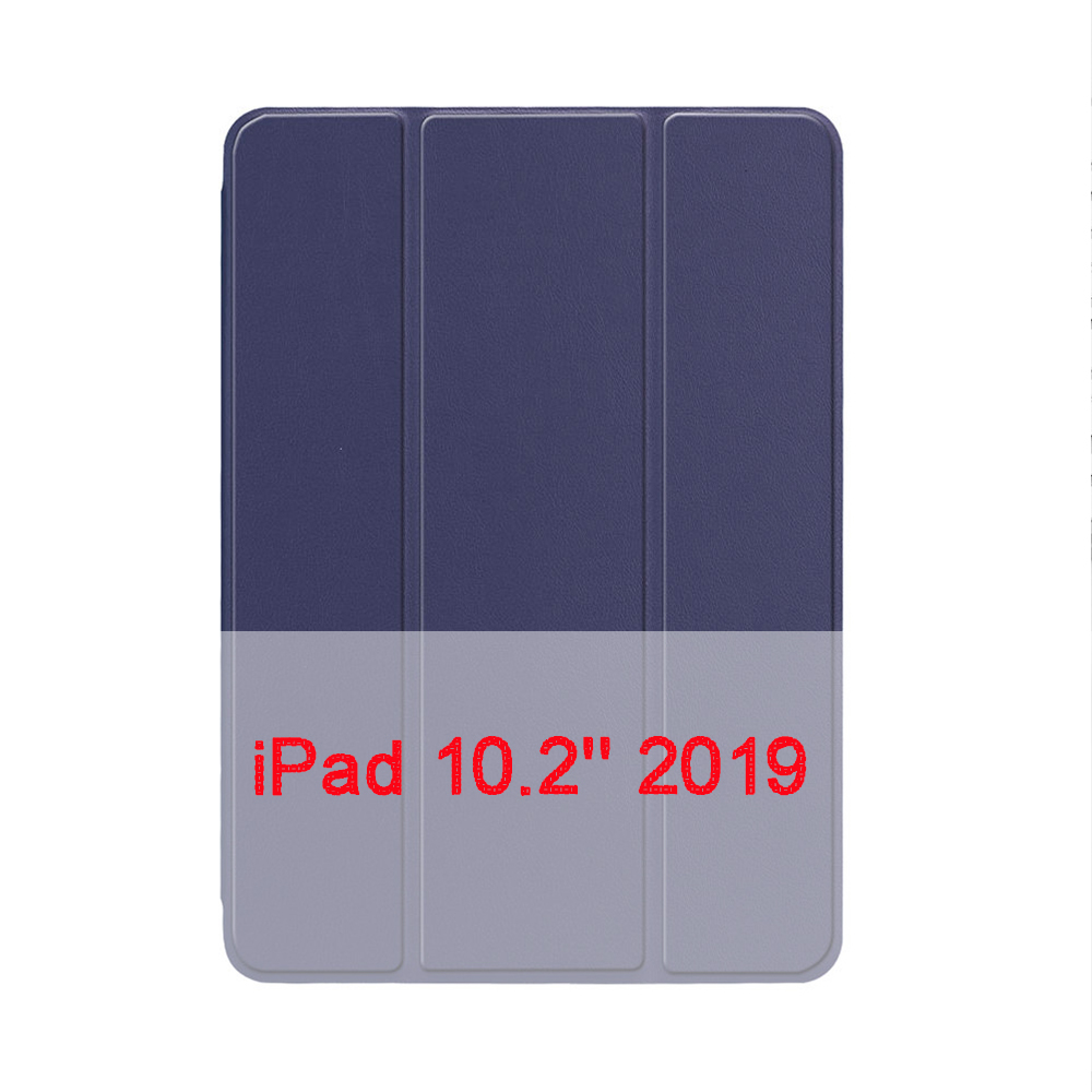 Navy Blue White QIJUN Case For Apple iPad 10 2 2019 iPad 7 7th Generation A2200 A2198 A2232 A2197