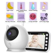 Беспроводная цветная умная радионяня 720P с камерой наблюдения, домашняя радионяня, система безопасности, электронный радионяня, устройство ...