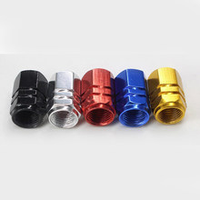 Motorcycle Bike Aluminium Wiel Air Poort Druk Ventiel Cap Cover(China)