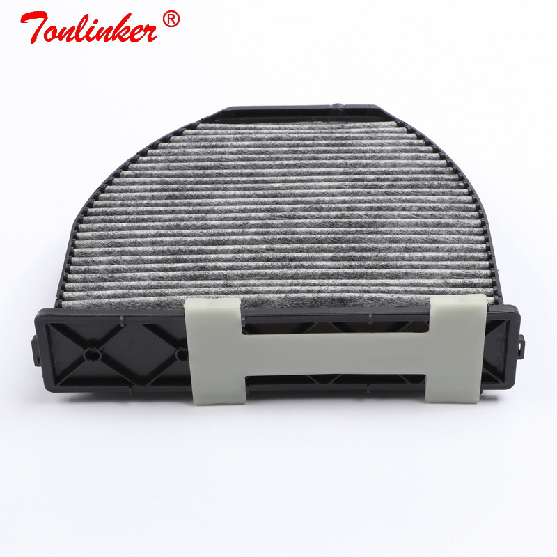 Image 2 - Cabin Filter A2128300038 1 Pcs For Mercedes Benz C218 X218 CLS 220 250 350 400 500 63AMG 2010 2019 Model Built in Carbon Filter-in Cabin Filter from Automobiles & Motorcycles