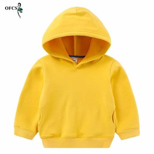 Image 3 - Childrens Hoodies Outerwear Red Yellow Black Blue Teenagers Coat  jacket Girls & Boys Sweatshirt Kids Retail Clothes 2 12 Years