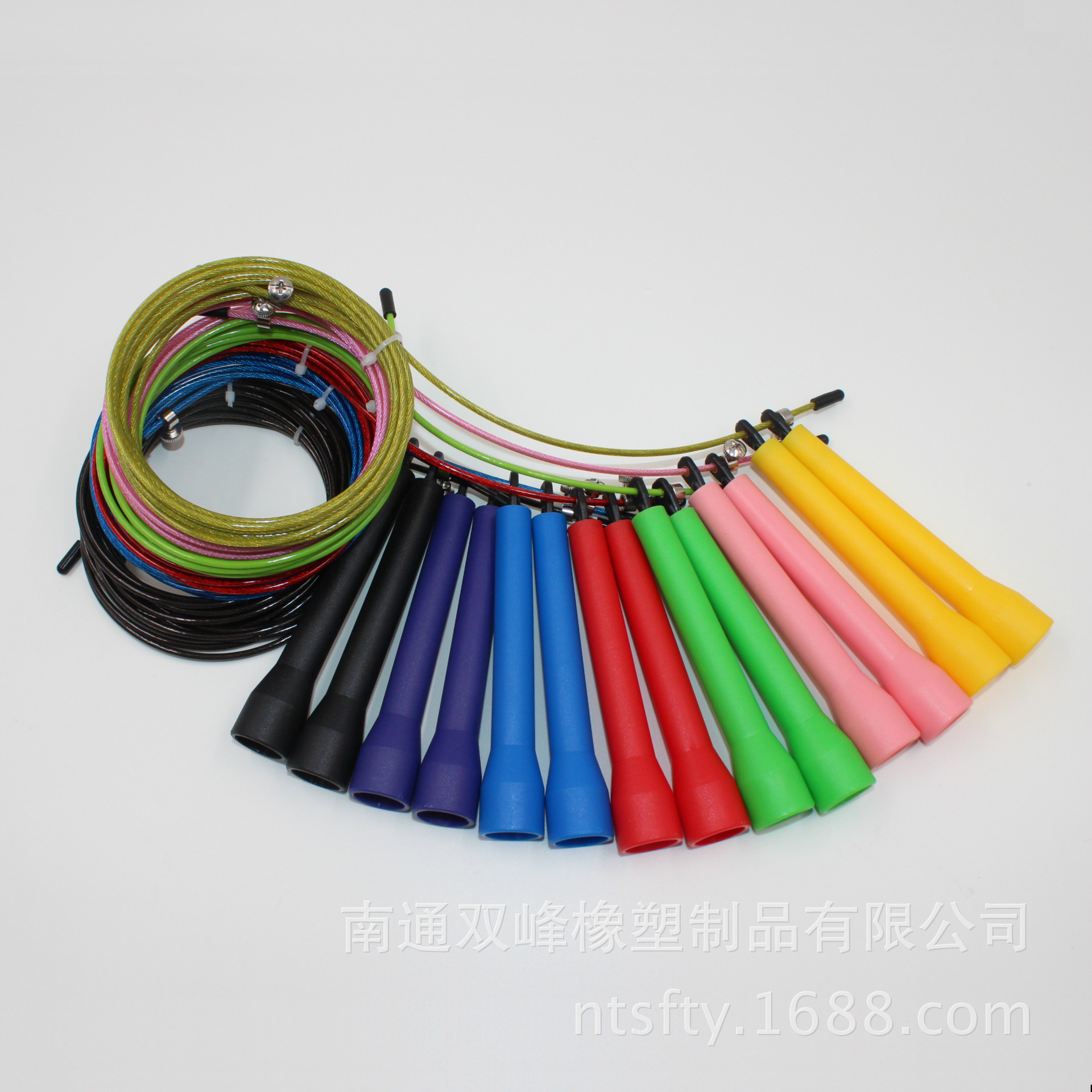 Nantong Manufacturers Direct Selling Jump Rope Bearing Jump Rope Steel Wire Jump Rope   Rapid Jump Rope Low Price Promotion