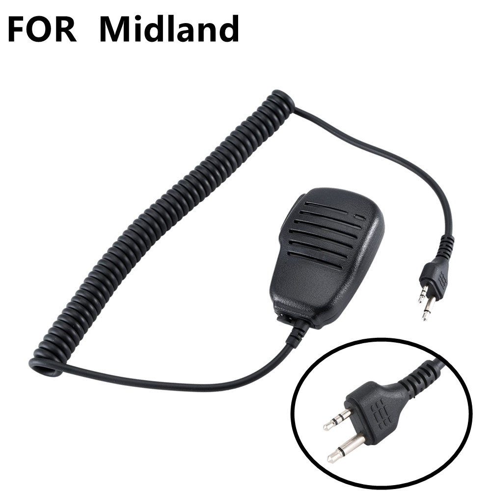 FengRuiTong Hand Microphone Walkie Talkie Microfono In Mano Ptt Per For Midland Radio G6/G7 Gxt550 Gxt650 Lxt80 Drop Shipping