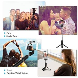Image 3 - Bluetooth SelfieStick Tripod Phone Holder Stand For Xiaomi Redmi Note 9S 8 7 Huawei iPhone 11 Pro XR Samsung Smartphone Support