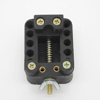 Unidad de altavoz de auriculares de 40mm, piezas de Reparación de auriculares de clip fijo para auriculares de 8mm, 9mm, 10mm, herramienta de fijación de soldadura para Conductor, 1 pieza
