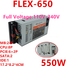 PSU Power-Supply Flex-Nas K39 Full-Modular 80plus Gold 550W Small New 2 for Xinhang ITX
