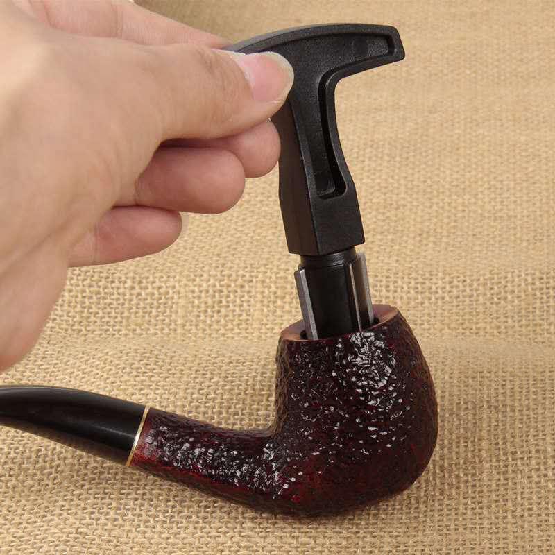 4 cabeças ferramenta de tubulação do tabaco reamer raspador aço inoxidável removedor carbono limpador limpeza ferramentas acessórios