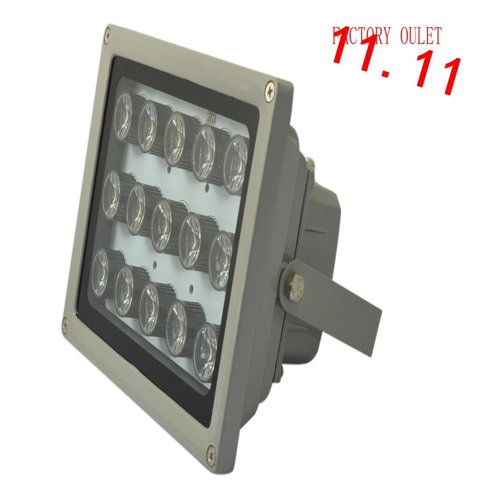 1pcs infrared 15 high power IR LED illuminator Infrared assist light for CCTV Camera