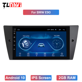 9 inch Android 10 Car Radio DVD Player For 1bmw E90/E91/E92/E93 3 Series Multimedia GPS Navigation stereo Audio head unit image