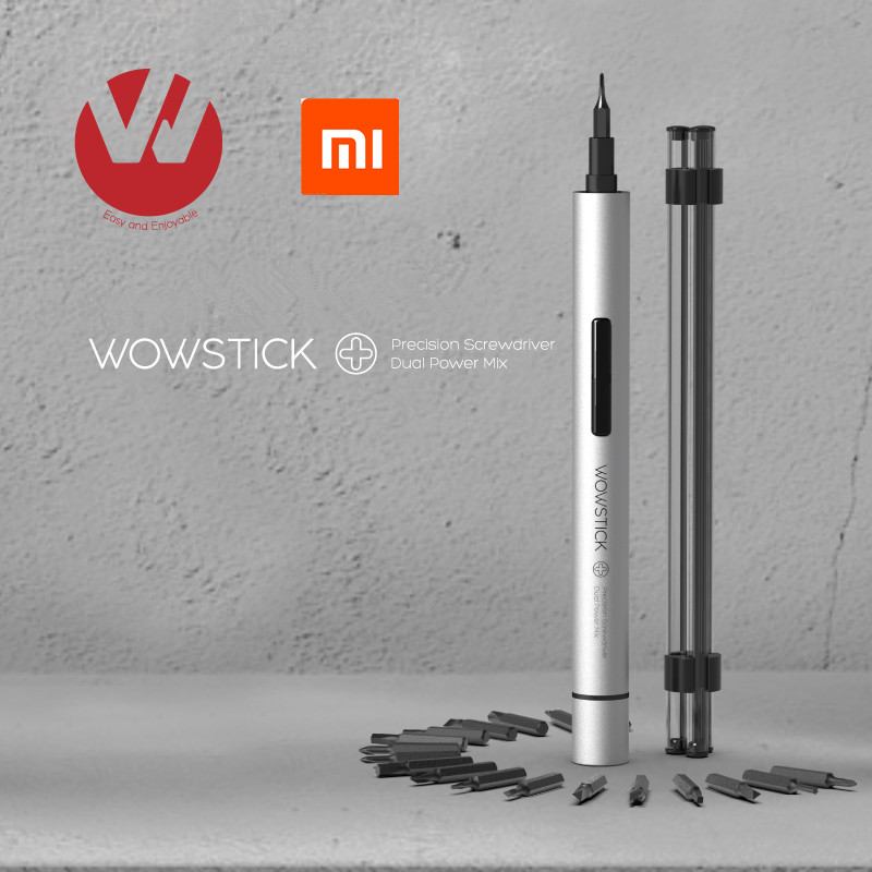 Original Xiaomi Mijia Wowstick Try 1P+ 19 In 1 Electric Screw Driver Cordless Power work with home smart home kit product(China)