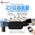 GLEDOPTO zigbee контроллер Мини Смарт ТВ светодиодный светильник комплект 5 В usb rgb + cct компьютерный светодиодный светильник для работы с zigbee hub echo