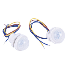 1pc Infrared Light Motion Sensor Time Delay Home Lighting Switch Led Sensitive Night Lamp for Home Indoor Outdoor