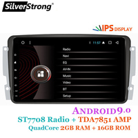 SilverStrong 8inch IPS Android9.0 GPS Car Radio GPS for Mercedes Benz CLK W209 W203 W208 W463 Vaneo Viano Vito