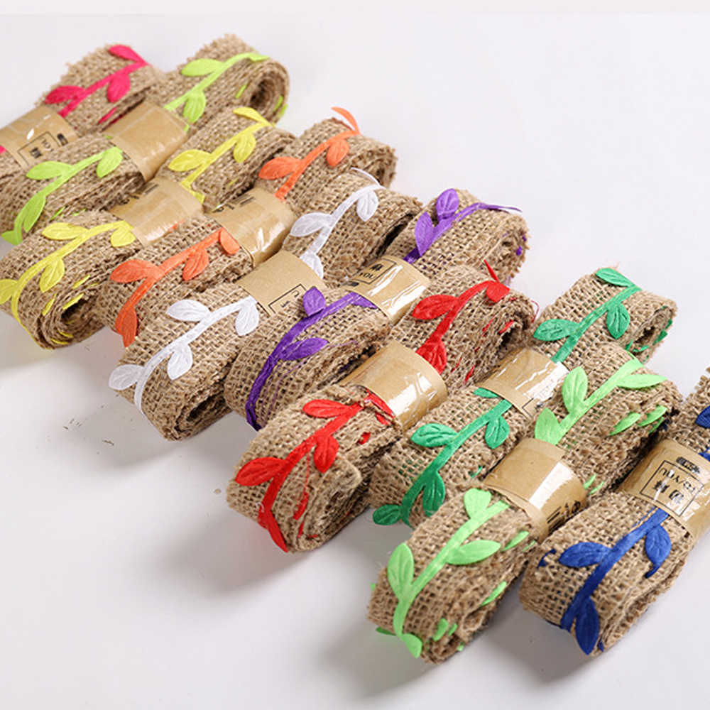 lace flat hemp b<strong>r</strong>aided rope diy wedding home textile decorative