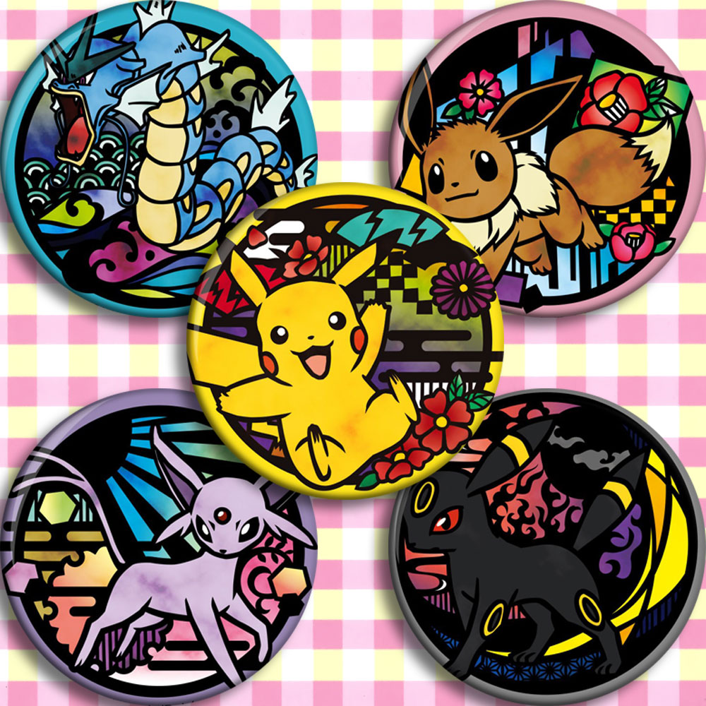 japan-anime-font-b-pokemon-b-font-cosplay-badge-cartoon-collection-bags-badges-for-backpacks-button-clothes-brooch-pins-gifts