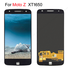 "5.5"" AMOLED LCD For Motorola Moto Z LCD Display Touch Screen Digitizer Replacement For MOTO Z Droid Display XT1650 XT1650 03 LCD"