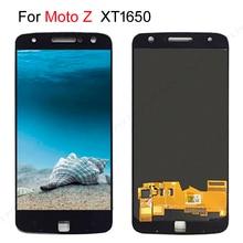 "5.5 ""Amoled Lcd Voor Motorola Moto Z Lcd Touch Screen Digitizer Vervanging Voor Moto Z Droid Display XT1650 XT1650 03 Lcd"