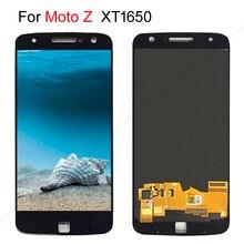 """5.5 """"SCHERMO AMOLED LCD Per Motorola Moto Z Display LCD di Tocco Digitale Dello Schermo di Ricambio Per MOTO Z Droid Display XT1650 XT1650 03 LCD"""