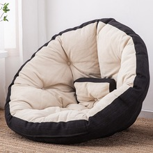 Chair Sofa Bean-Bag Couch Gaming-Cushion Floor-Seat Pouf Ottoman Tatami Folding Adults