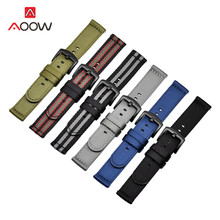 Heavy Duty Nylon Band Strap 18mm 20mm 22mm 24mm for Samsung