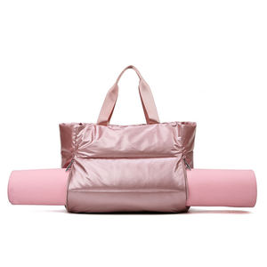 Image 4 - Winter new Large Capacity Shoulder Bag for Women Waterproof Nylon Bags Space Pad Cotton Feather Down Bag Large Bag with Shoulder