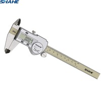 shahe calipers 0 150 mm vernier caliper micrometer gauge IP54 Digital Vernier Caliper Measuring tool 0.01 Digital caliper