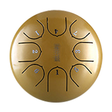 все цены на 6 Inch 8 Notes G Tune Gift Professional Carry Percussion Mini Steel Tongue Drum Hand Pan With Mallets Music Education C Key Tank