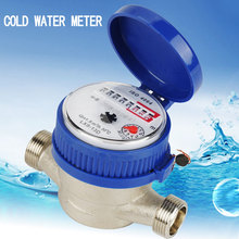 Dry-Table Cold-Water-Meter Garden Measuring-Tools Single-Water-Flow for Home 15mm Plastic