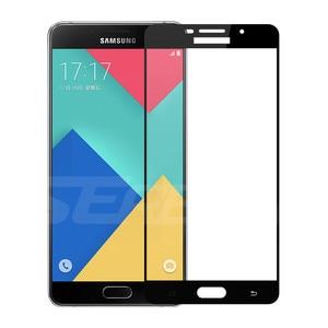 Image 4 - 9D tam kapak koruyucu cam üzerinde Samsung Galaxy A3 A5 A7 J3 J5 J7 2016 2017 S7 temperli ekran koruyucu cam filmi