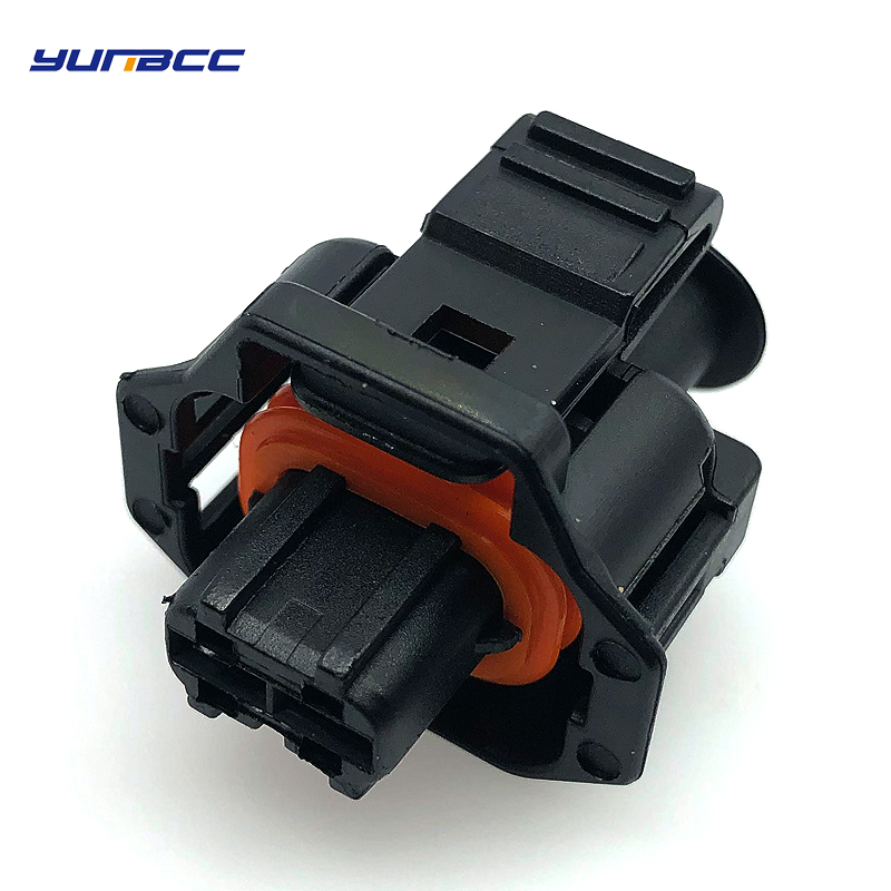 5 pcs 2 pin/way automotive plug Diesel Fuel Common Rail Injector Crankshaft Sensor female Connector For Ford Renault