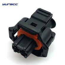 цены 5pcs 2pins boschs automotive plug Diesel Fuel Common Rail Injector Crankshaft Sensor female Connector  For Bosch Ford Renault
