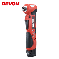 DEVON 1/4 Electric Ratchet Wrench Impact Screwdriver Cordless Scaffolding 80NM 12V Rechargeable Angle Impact Power Tools Drill