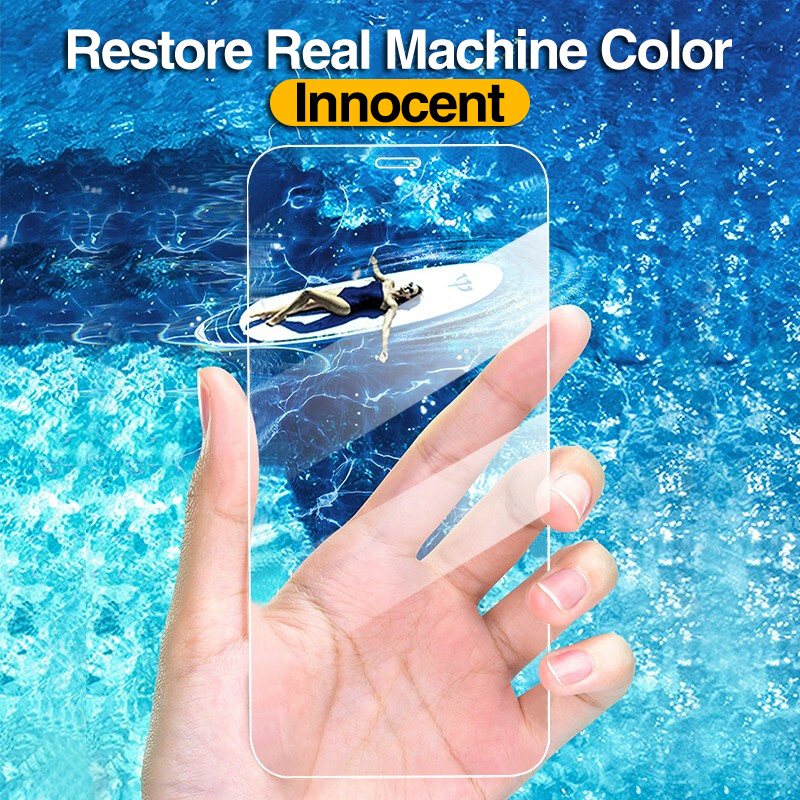 4Pcs Full Cover Tempered Glass For iPhone 11 Pro X XR XS MAX 12 Pro Max Mini Screen Protector For iPhone 6 7 8 Plus Glass film 4