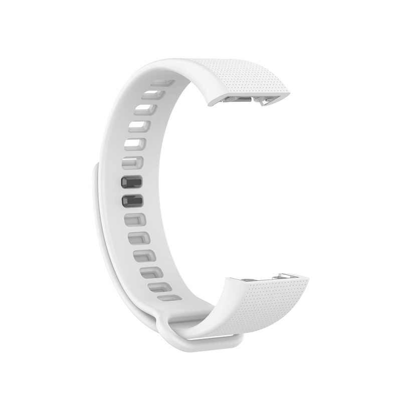Correa de reloj Unisex para la pulsera del medidor del Huami de Amazfit A1702 de silicona con textura transpirable correa del reloj de reemplazo de la correa de la muñeca