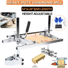 Portable Chainsaw Mill Honhill 24inch Planking 14inch-To-24inch-Guide-Bar