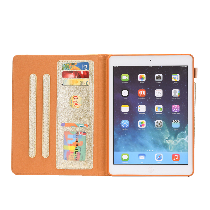Leather 10.2 Cover iPad For Funda For 10.2 2019 iPad Bling Glitter 7th Case Coque inch