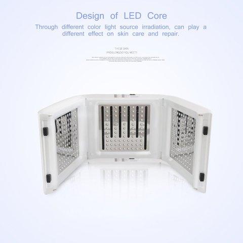 Pdt Smart Spectrometer Led Light Dynamic Beauty Equipment Ten-Color Spectrometer Beauty Salon Acne Beauty Instrument Karachi