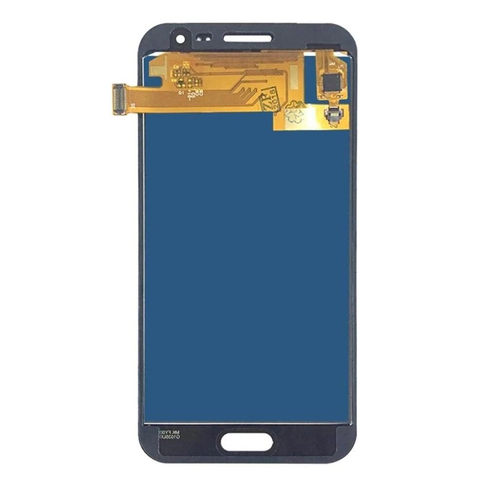 5 pçs de alta qualidade nova lcds para samsung galaxy j2 2015 j200 j200f ajustar o brilho da tela lcd toque digitador como