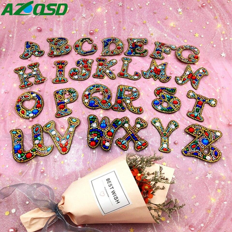 DIY Keychain Pendant Full Drill Diamond Painting Key Buckle Ring Gift Handmade