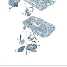 New Oil Filter For VW Audi A3 Cabriolet S3 Sportback Quattro 04E115561H
