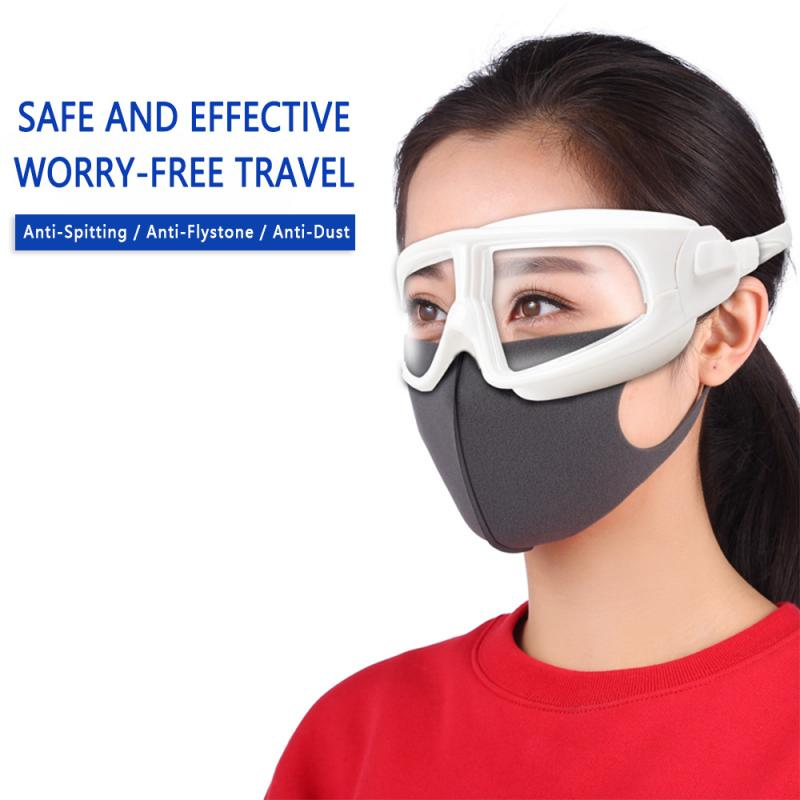 Unisex Protection Goggles Anti-saliva Splash Fully Enclosed Safety Goggles Anti-Fog Prevent Infection Hospital Lab Goggles
