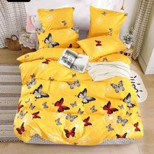 Solid-Bedding-Sets Flower Lovely-Pattern X-Printed High-Quality Home 4 with Star-Tree