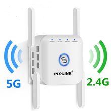 5G WiFi Repeater Drahtlose WiFi Verstärker Signal 5Ghz Wi Fi Lange Range Extender Access Point 1200Mbps Booster hause Wi-Fi Internet